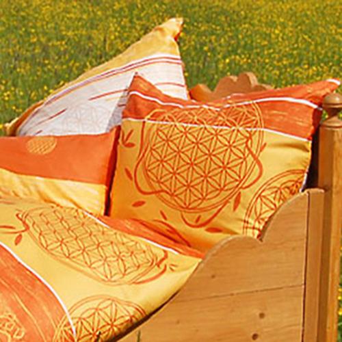 kissenbezug einzeln spirit of om zimt mango. Black Bedroom Furniture Sets. Home Design Ideas
